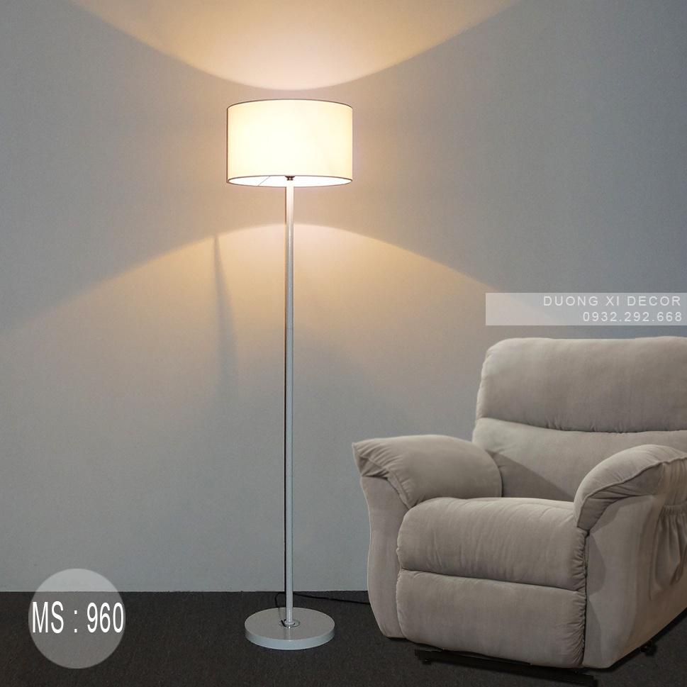 Đèn Chao Vải Thẳng -MS 960