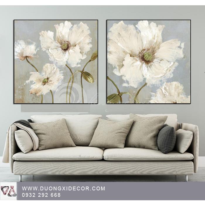 Tranh canvas hoa  T112019-01